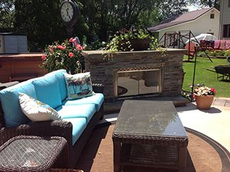 Outdoor Fireplace Western Ny Black Hat Chimney Fireplace Inc