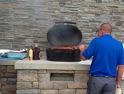 Outdoor Kitchen 4 Black Hat Chimney Amp Fireplace Inc